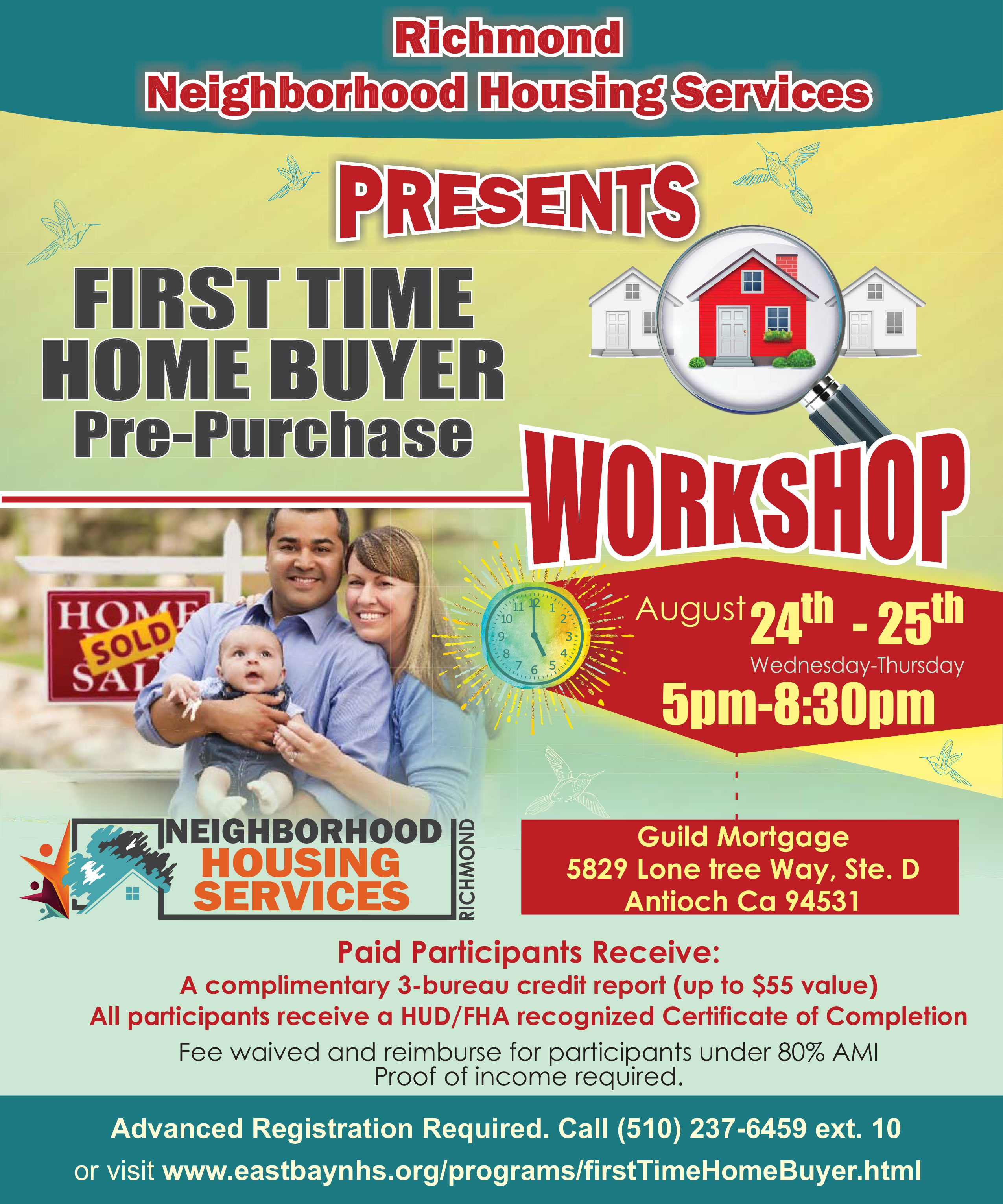 Richmond Neighborhood Housing Services First Time Home Buyers Pre