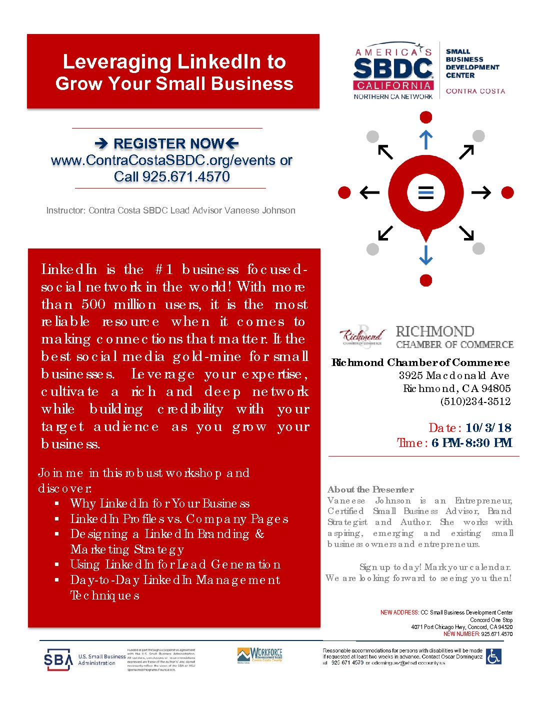 sbdc leveraging linkedin to grow your small business richmond
