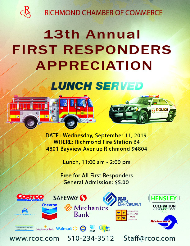 First Responders Appreciation Lunch